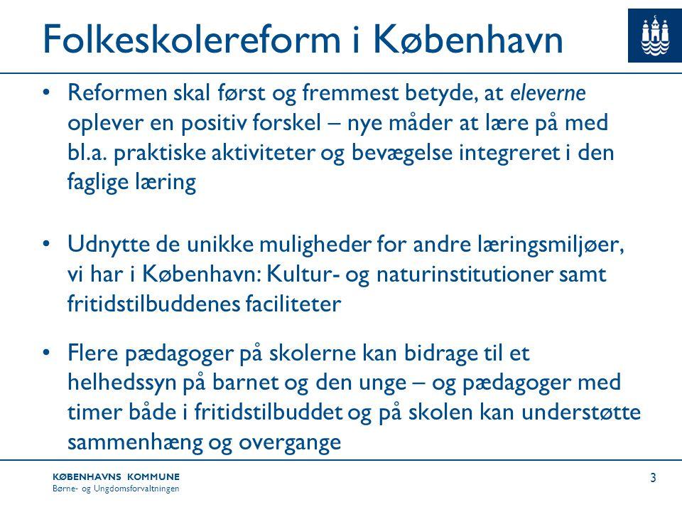 Folkeskolereform i København