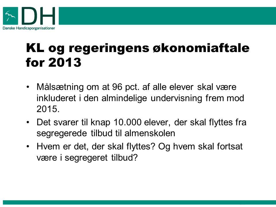 KL og regeringens økonomiaftale for 2013