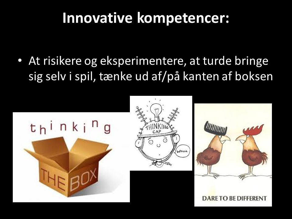 Innovative kompetencer: