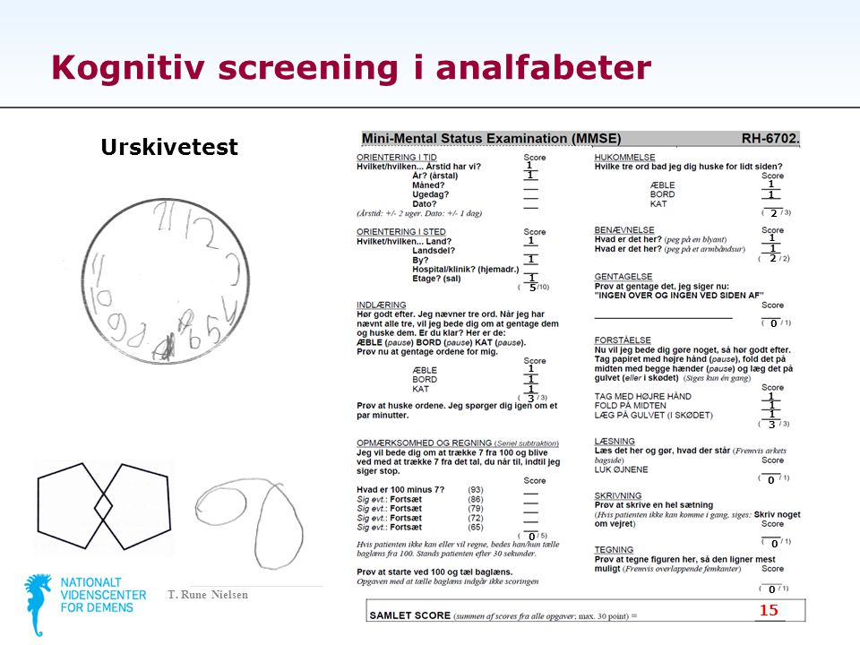 Kognitiv screening i analfabeter