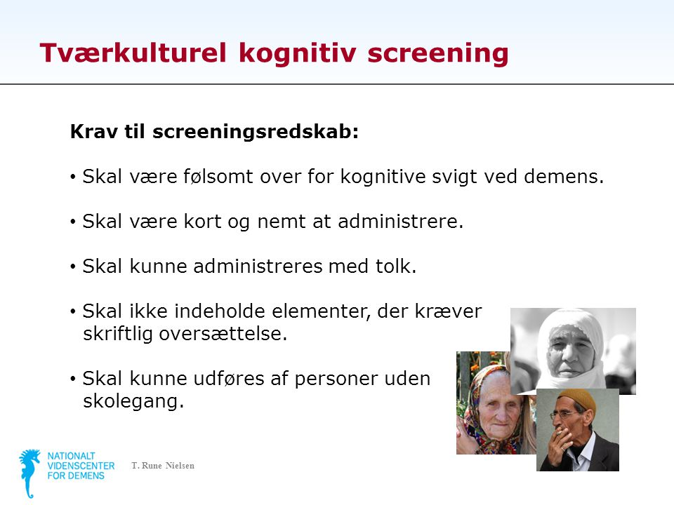 Tværkulturel kognitiv screening