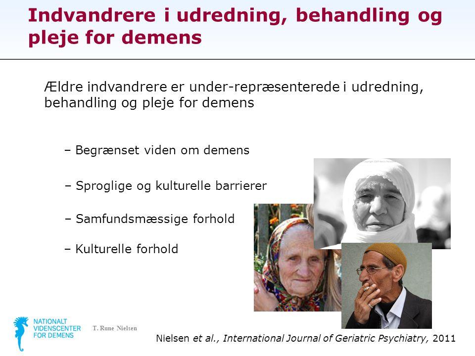 Indvandrere i udredning, behandling og pleje for demens