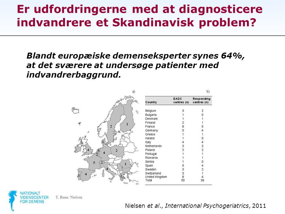 Er udfordringerne med at diagnosticere indvandrere et Skandinavisk problem