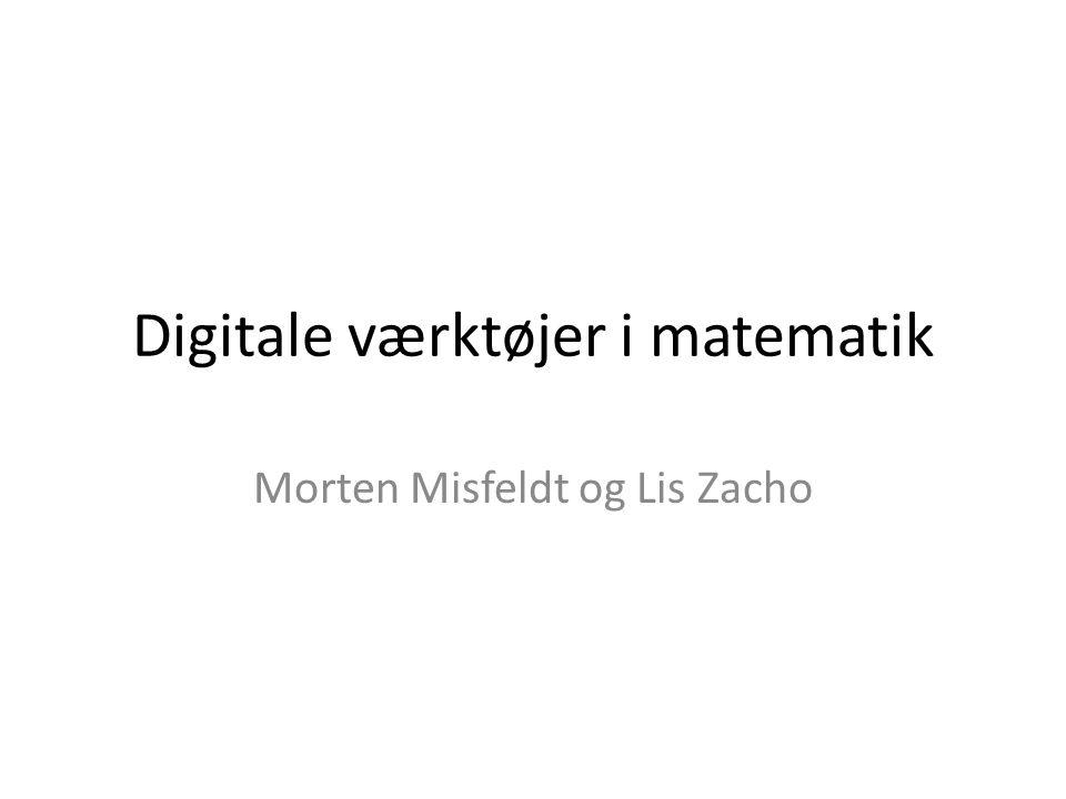 Digitale værktøjer i matematik