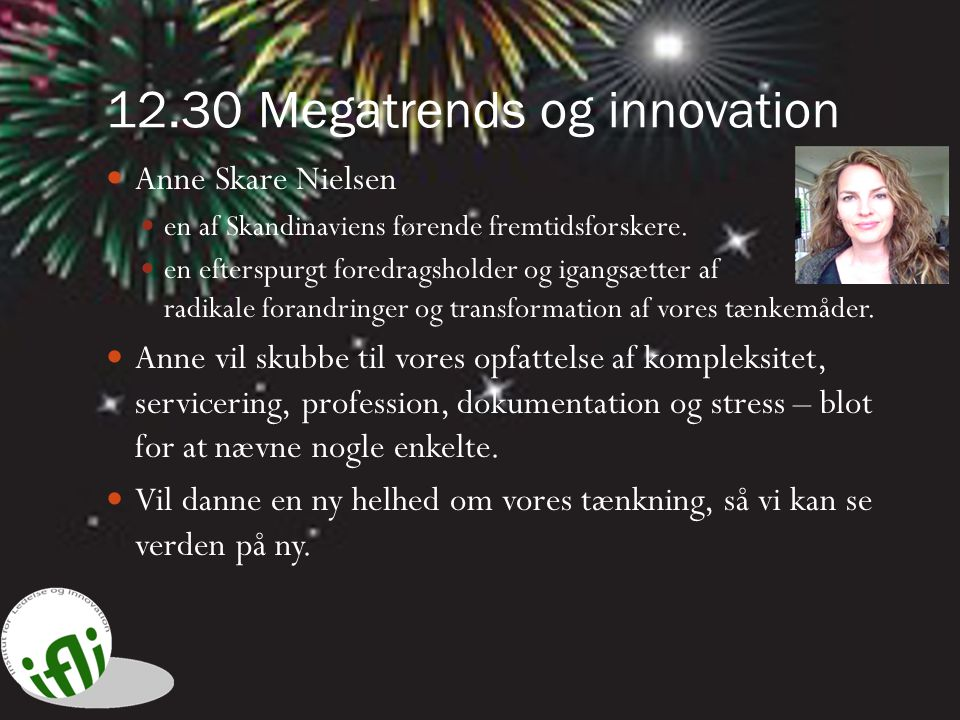 12.30 Megatrends og innovation