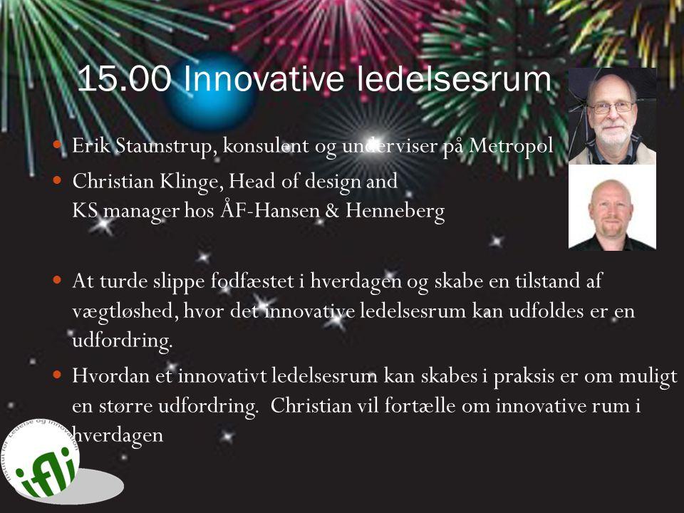 15.00 Innovative ledelsesrum