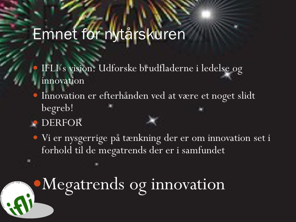 Megatrends og innovation