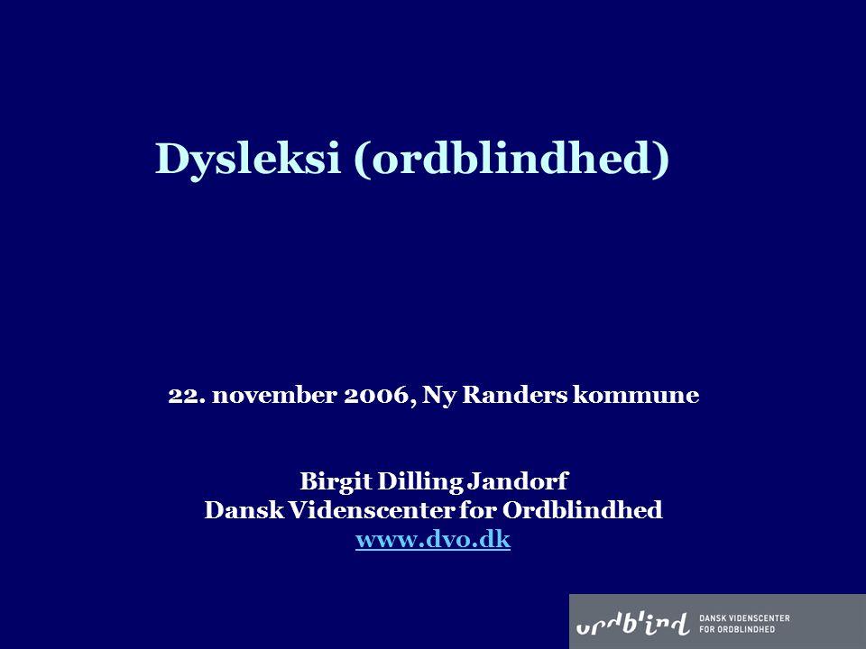 Dysleksi (ordblindhed)