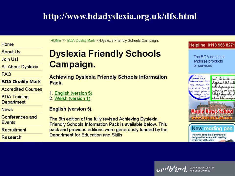http://www.bdadyslexia.org.uk/dfs.html