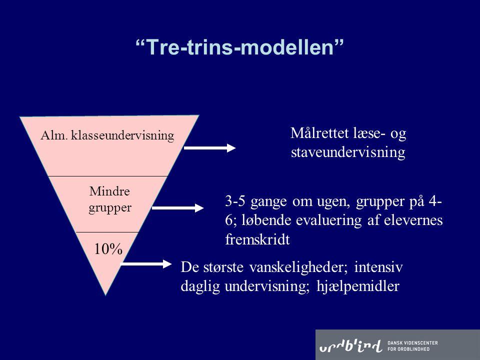 Tre-trins-modellen