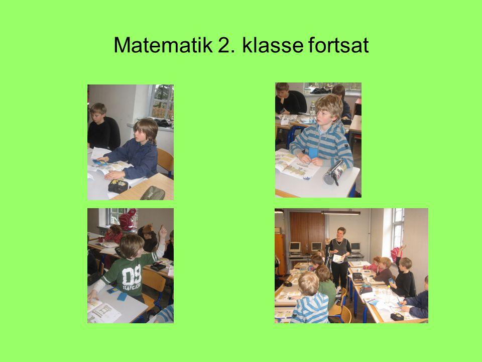 Matematik 2. klasse fortsat