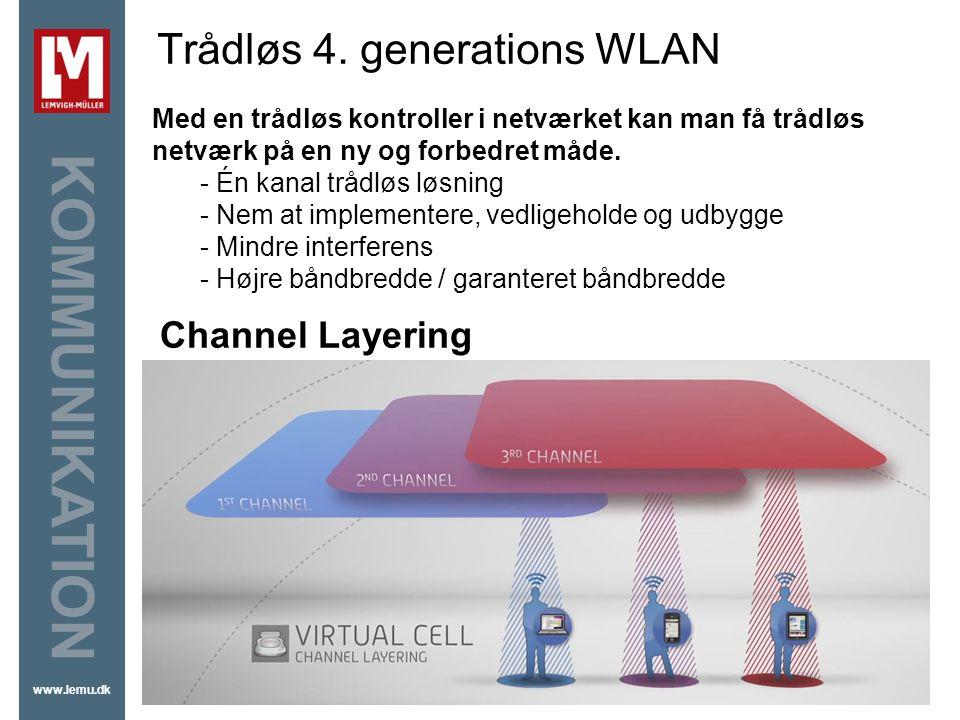 Trådløs 4. generations WLAN