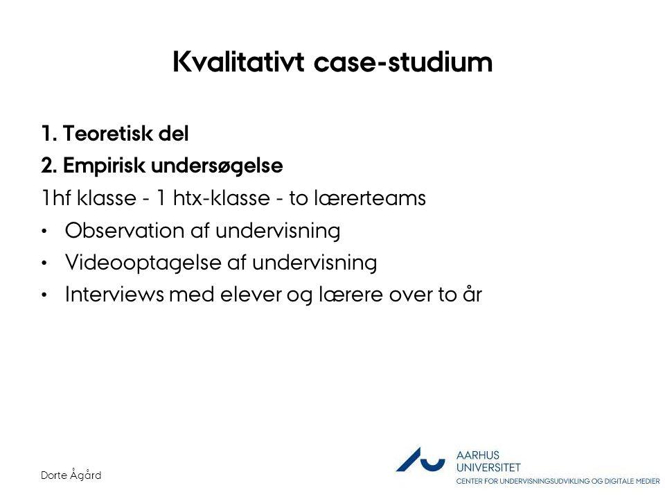 Kvalitativt case-studium