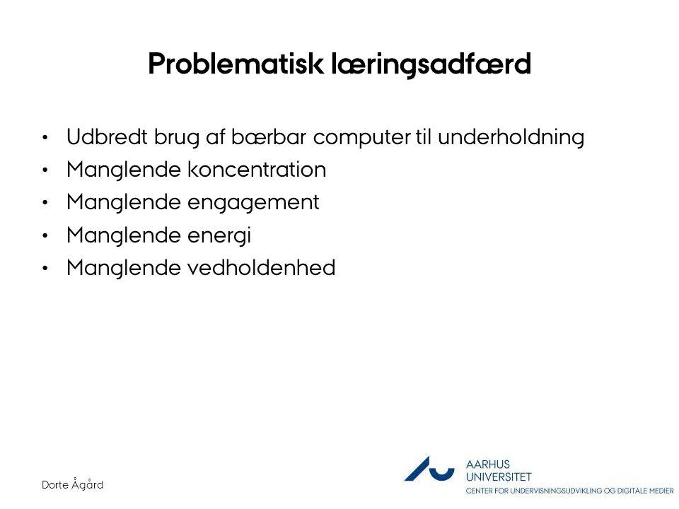 Problematisk læringsadfærd