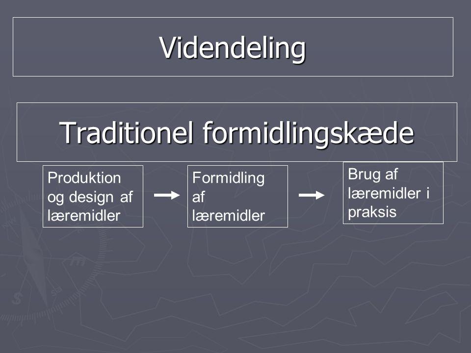 Traditionel formidlingskæde