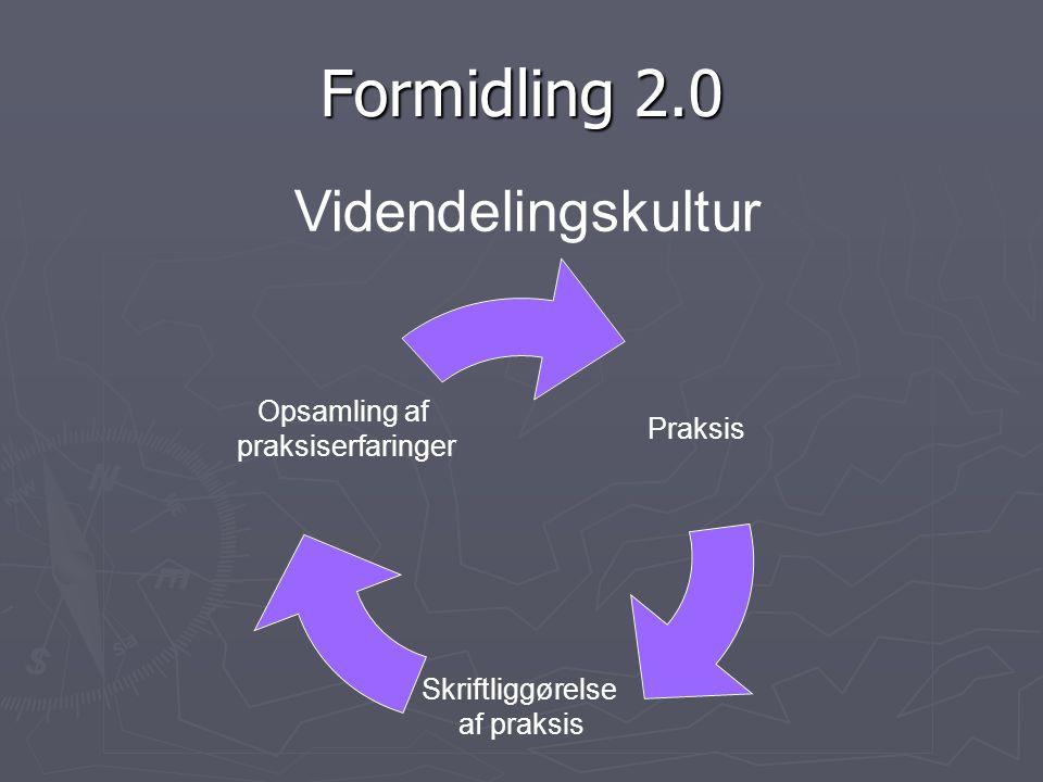 Formidling 2.0 Videndelingskultur