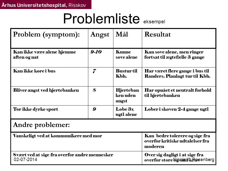 Problemliste eksempel
