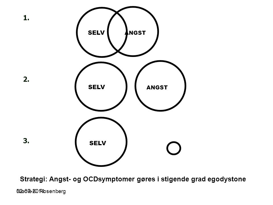 Strategi: Angst- og OCDsymptomer gøres i stigende grad egodystone