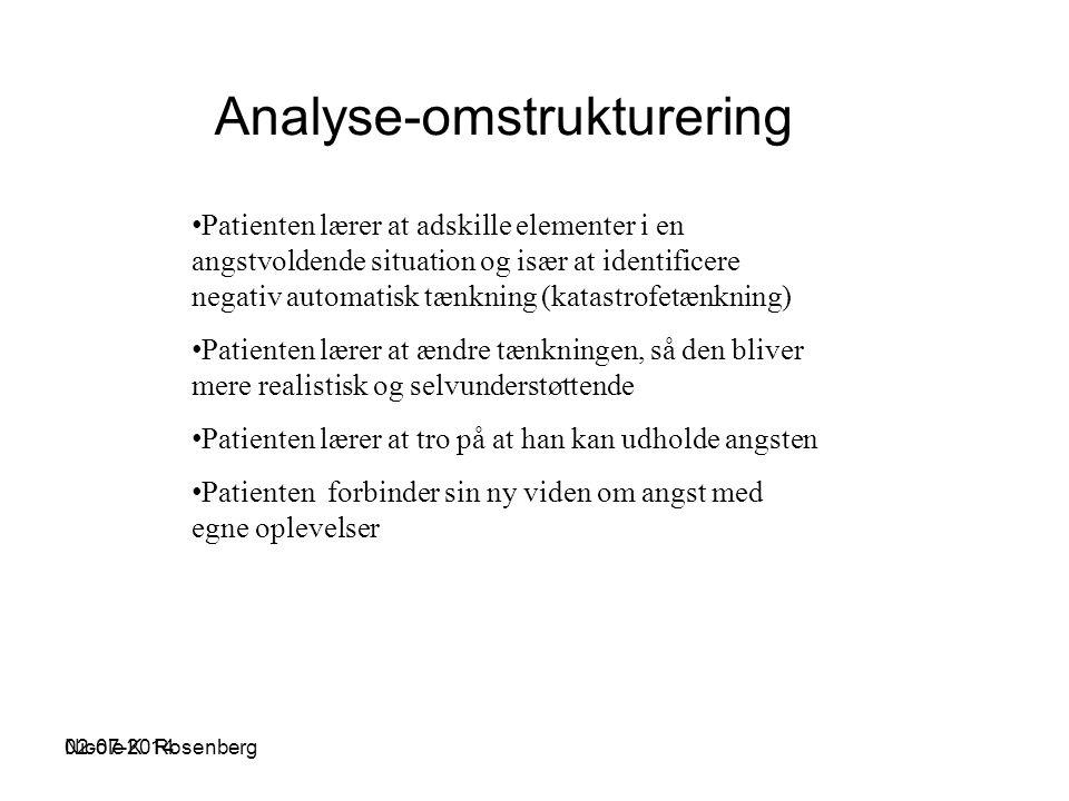 Analyse-omstrukturering