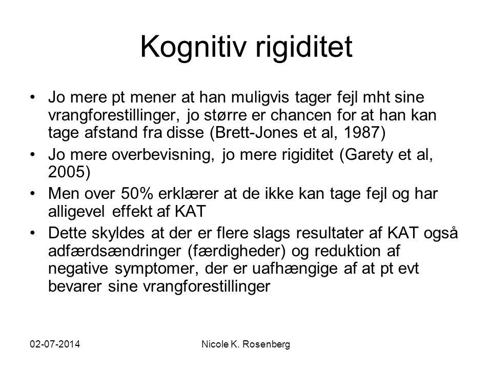Kognitiv rigiditet