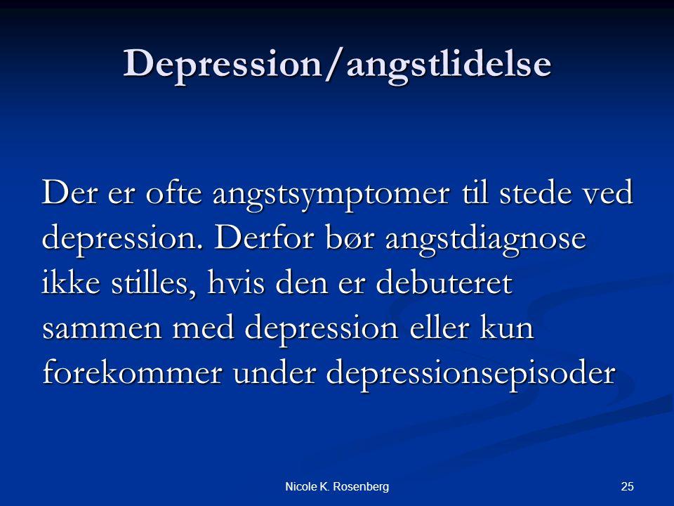 Depression/angstlidelse