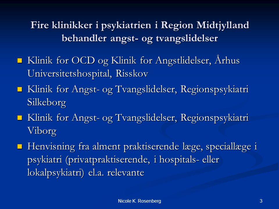 Klinik for Angst- og Tvangslidelser, Regionspsykiatri Silkeborg