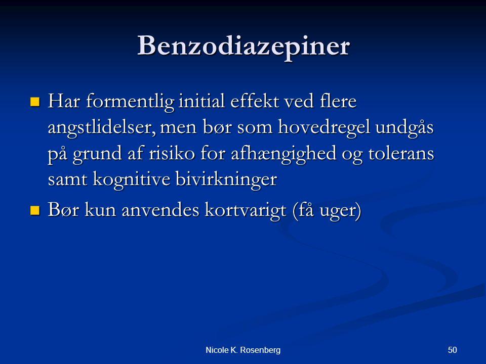 Benzodiazepiner
