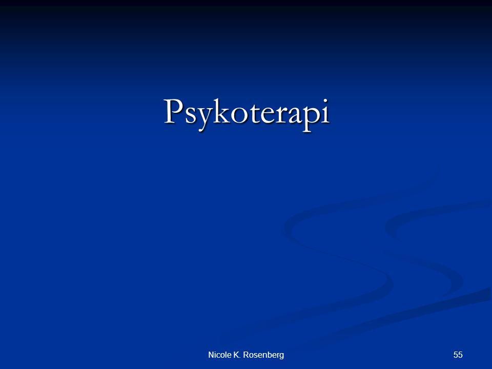 Psykoterapi Nicole K. Rosenberg