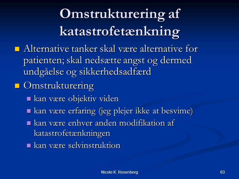 Omstrukturering af katastrofetænkning