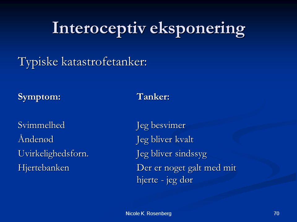 Interoceptiv eksponering