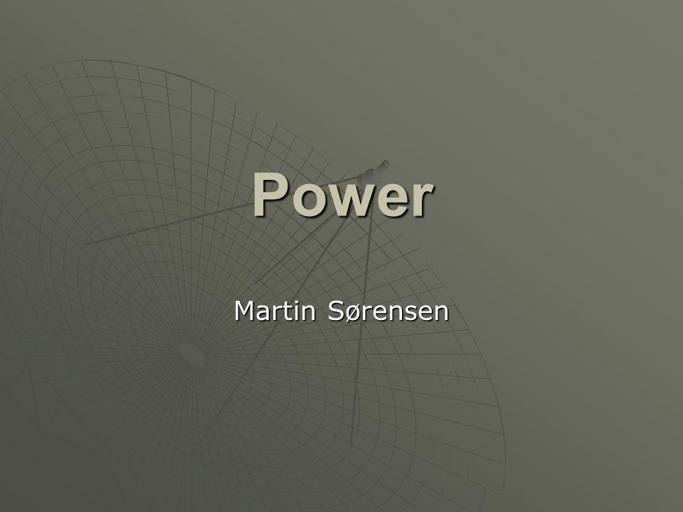Power Martin Sørensen