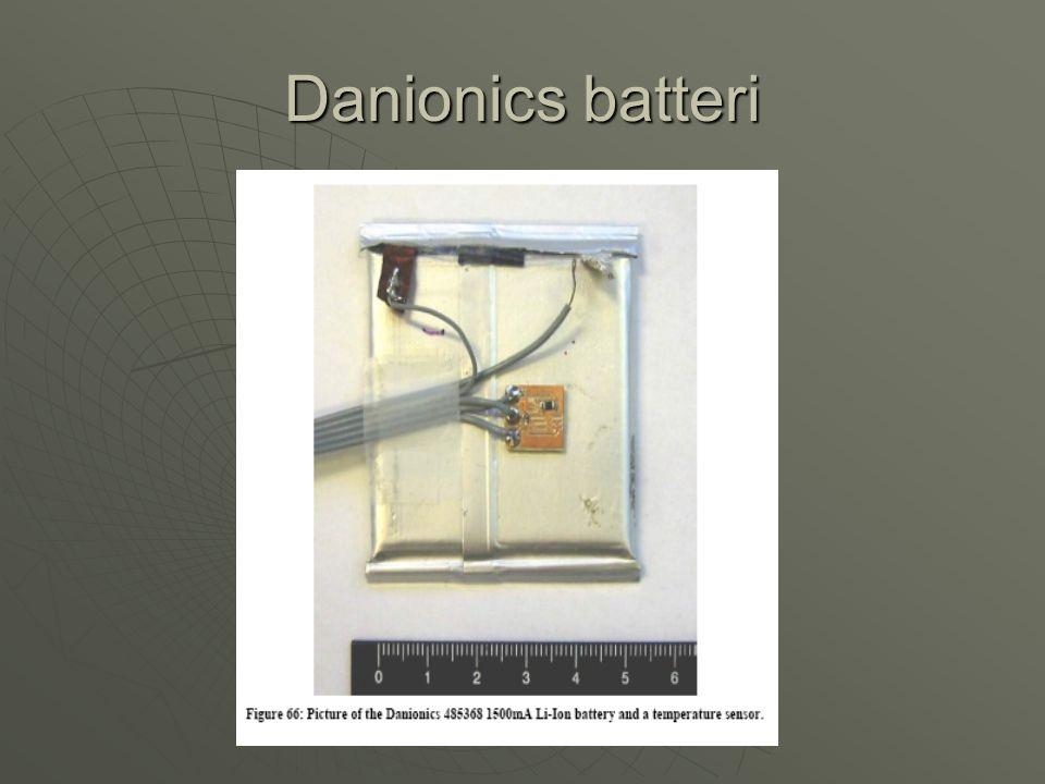 Danionics batteri