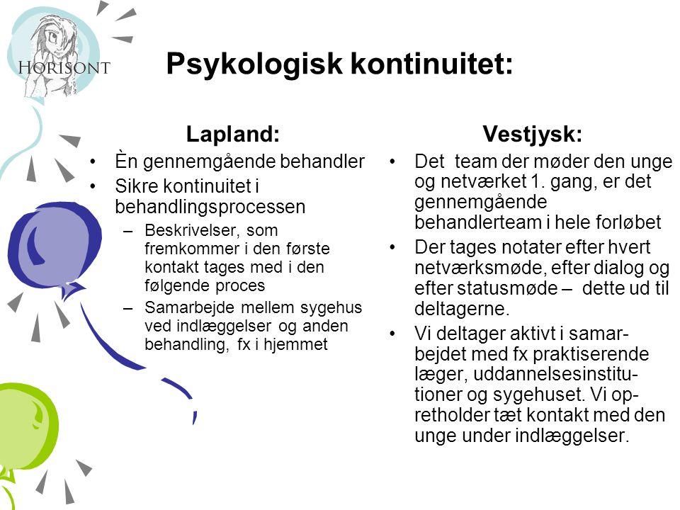 Psykologisk kontinuitet: