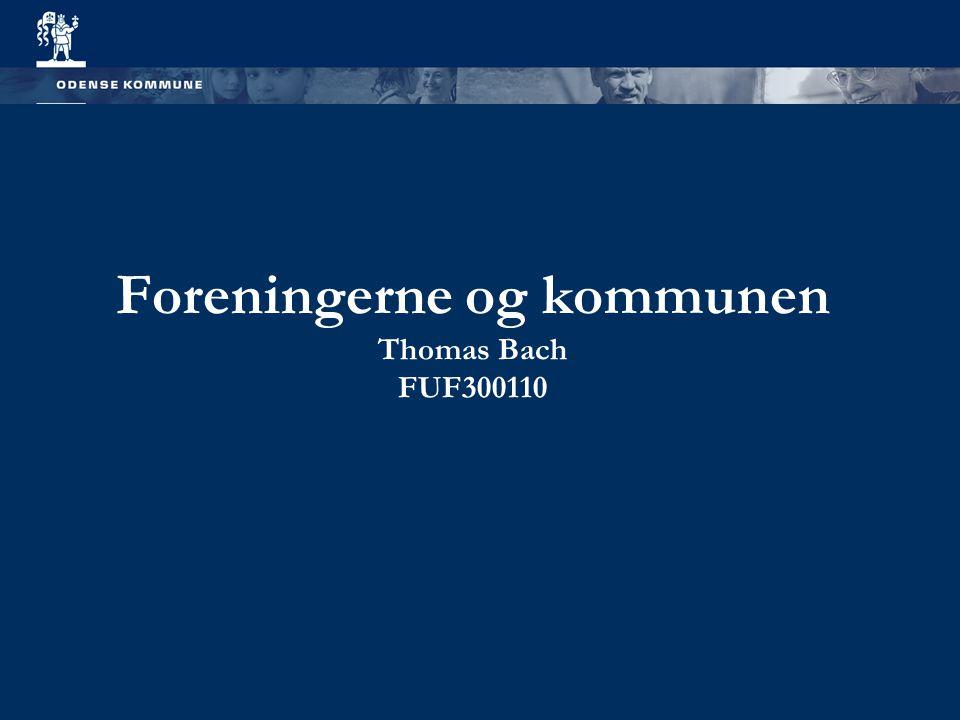 Foreningerne og kommunen Thomas Bach FUF300110