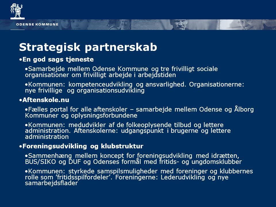 Strategisk partnerskab