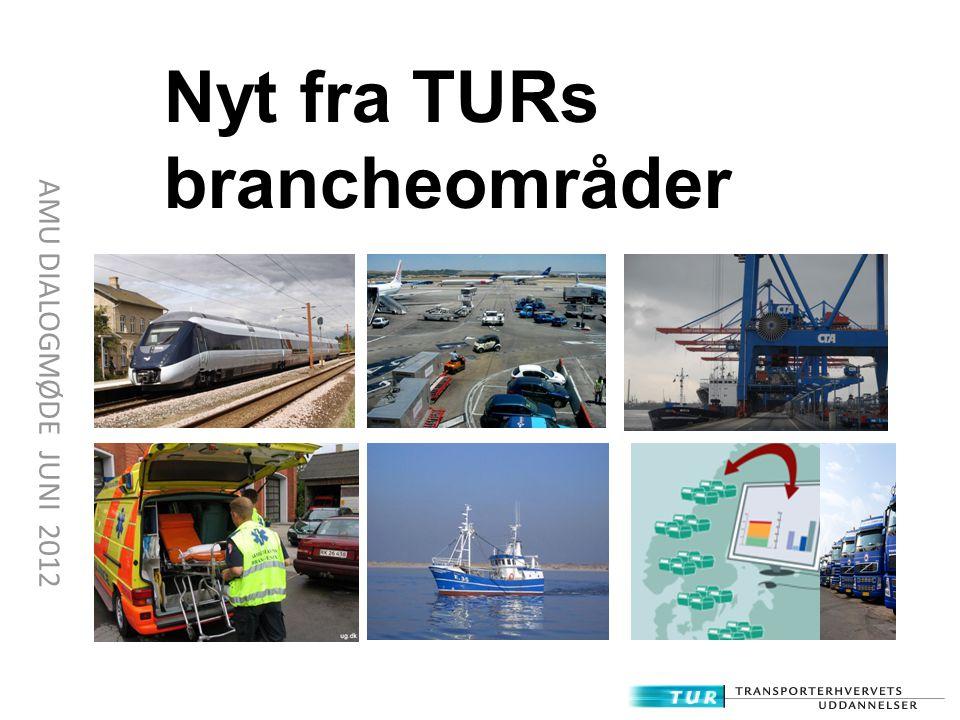 Nyt fra TURs brancheområder