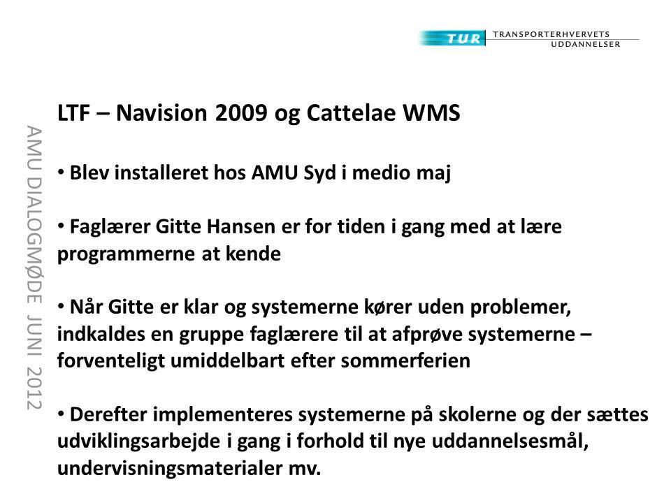 LTF – Navision 2009 og Cattelae WMS