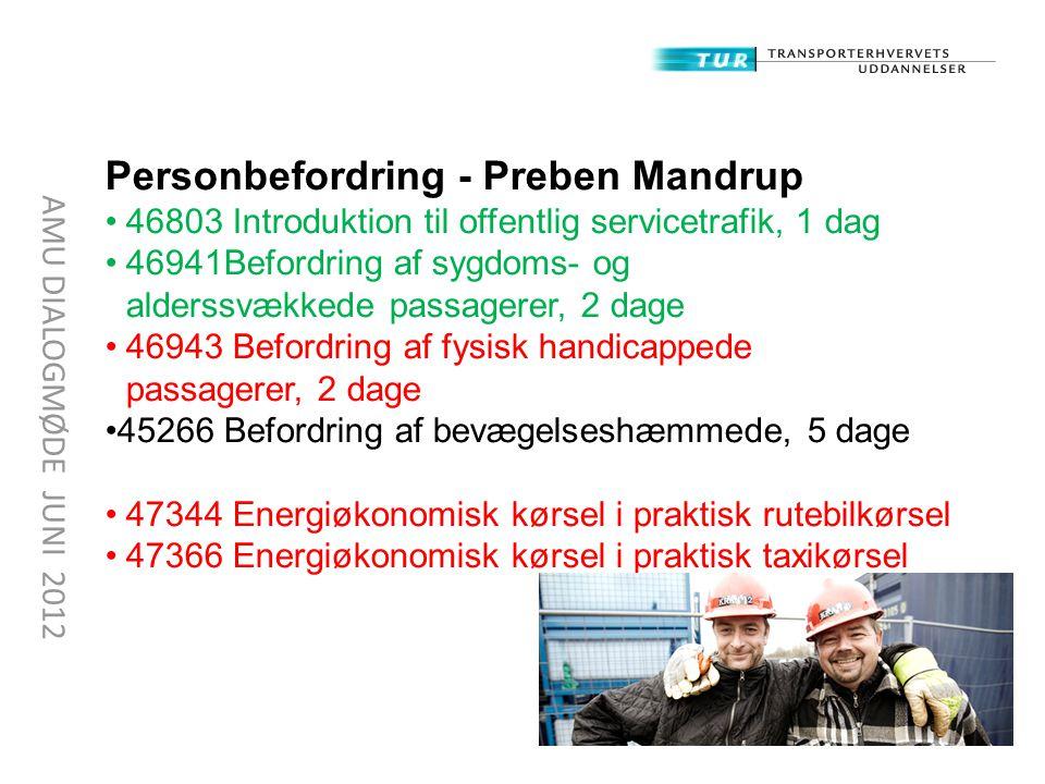 Personbefordring - Preben Mandrup