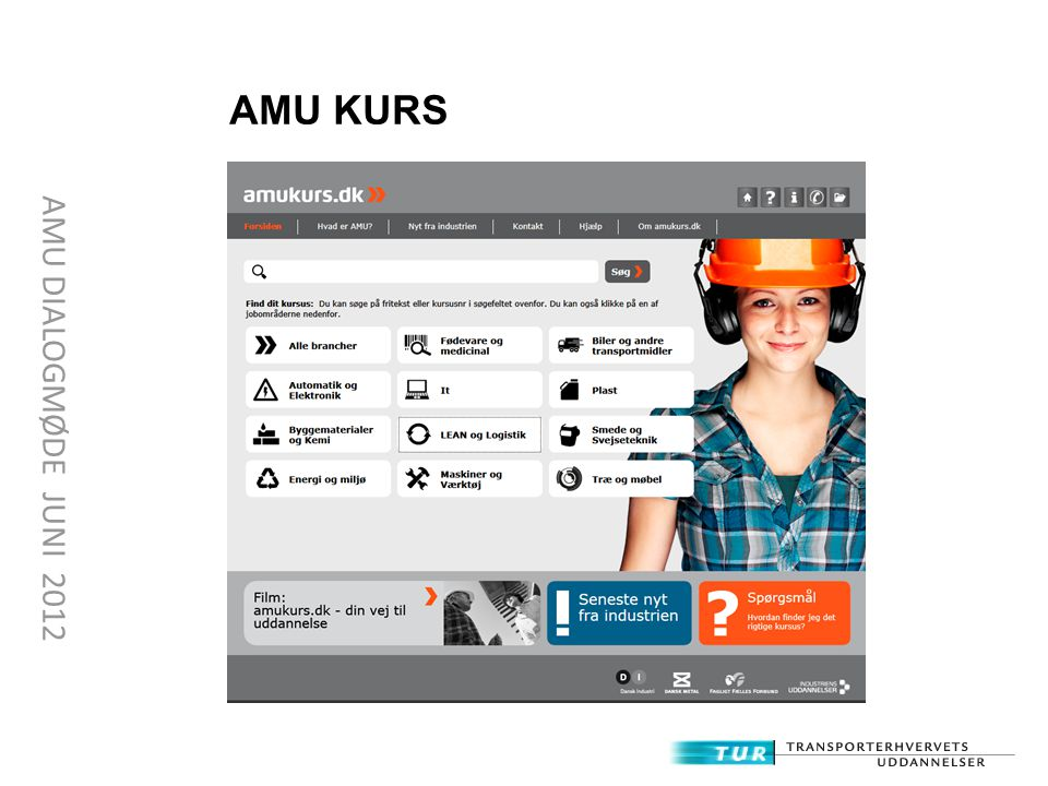 AMU KURS AMU DIALOGMØDE JUNI 2012