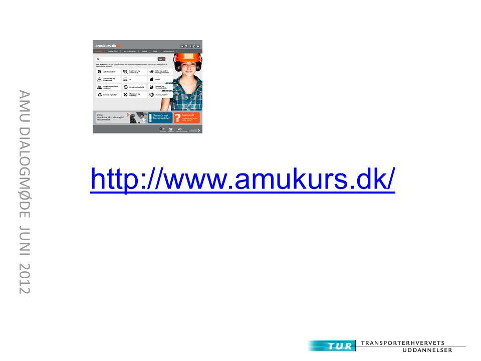 http://www.amukurs.dk/ AMU DIALOGMØDE JUNI 2012