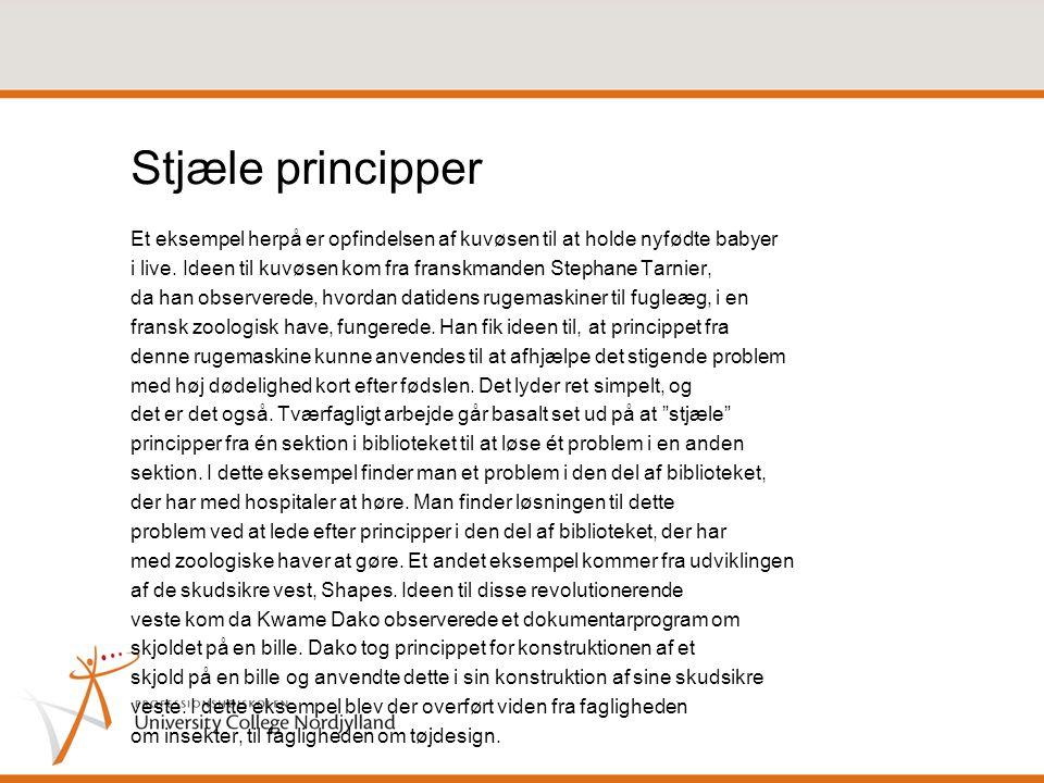 Stjæle principper