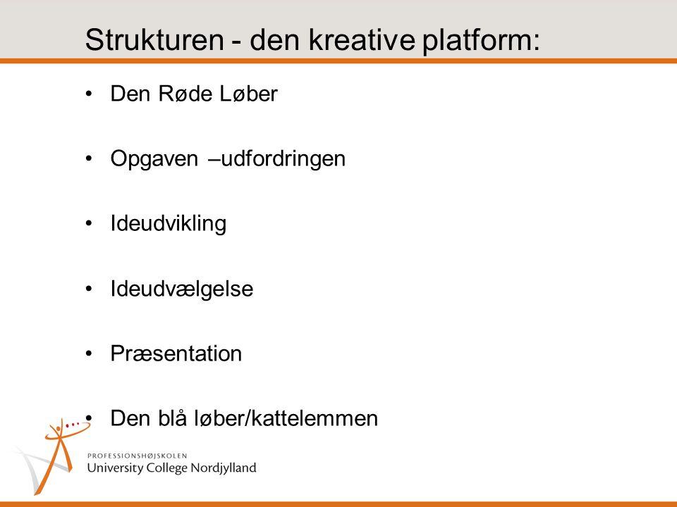 Strukturen - den kreative platform: