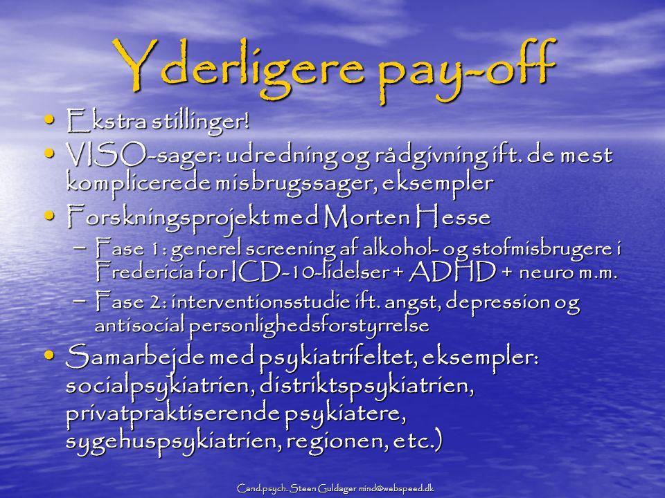 Cand.psych. Steen Guldager mind@webspeed.dk
