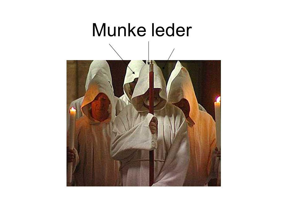 Munke leder