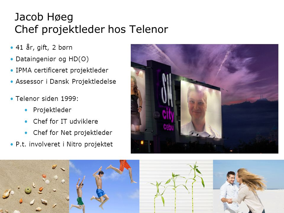 Jacob Høeg Chef projektleder hos Telenor