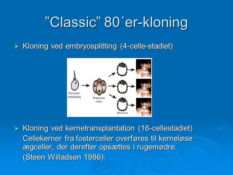 Classic 80´er-kloning