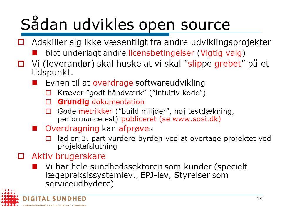 Sådan udvikles open source