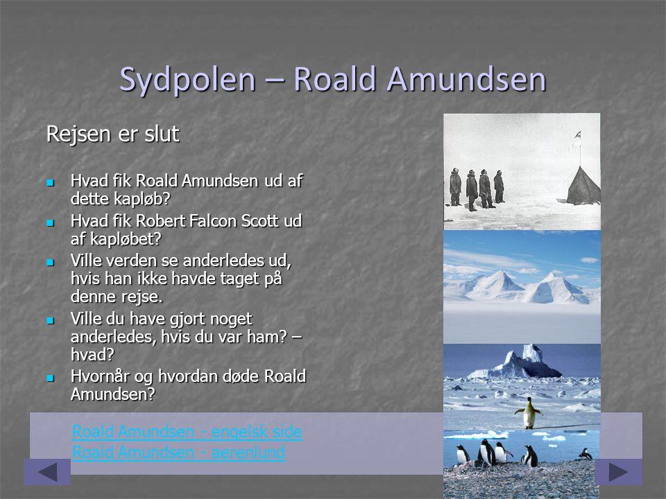 amundsen og scott