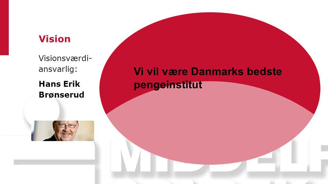 Vi vil være Danmarks bedste pengeinstitut