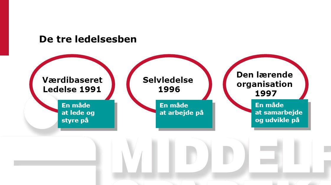 Den lærende organisation 1997